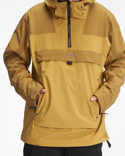 6 A/Div Quest Hooded Snow Jacket White EBYTJ00108 Billabong