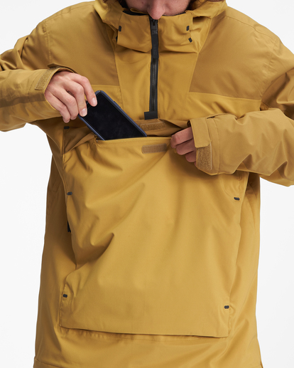 7 A/Div Quest Hooded Snow Jacket White EBYTJ00108 Billabong