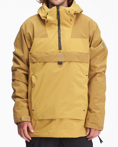 0 A/Div Quest Hooded Snow Jacket White EBYTJ00108 Billabong