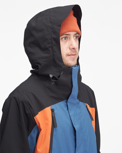 4 A/Div Reach Hooded Snow Jacket Multicolor EBYTJ00109 Billabong