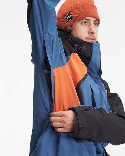 5 A/Div Reach Hooded Snow Jacket Multicolor EBYTJ00109 Billabong