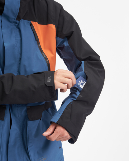 6 A/Div Reach Hooded Snow Jacket Multicolor EBYTJ00109 Billabong