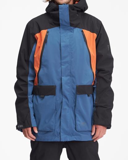 0 A/Div Reach Hooded Snow Jacket Multicolor EBYTJ00109 Billabong