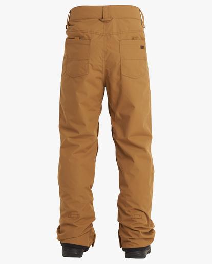 1 Outsider Snow Pants Brown EBYTP00102 Billabong
