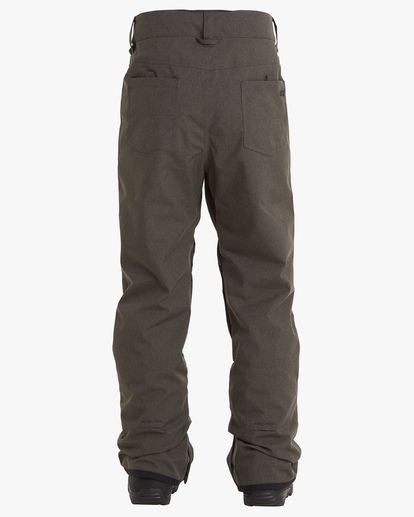 1 Outsider Snow Pants Grey EBYTP00102 Billabong