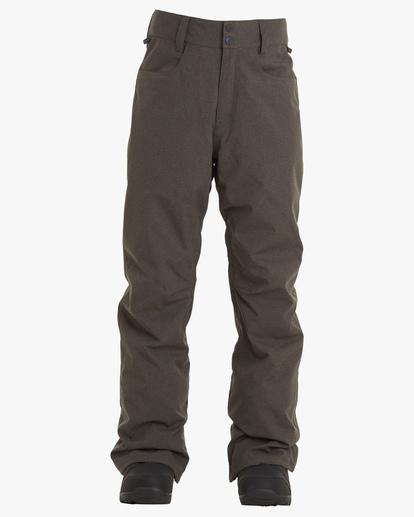 0 Outsider Snow Pants Grey EBYTP00102 Billabong
