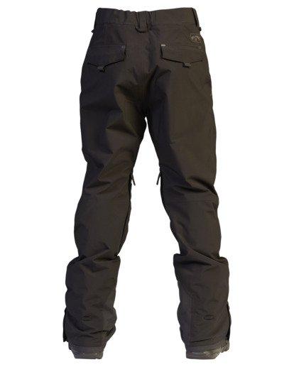 10 A/Div Compass Snow Pants Black EBYTP00103 Billabong