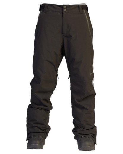 8 A/Div Compass Snow Pants Black EBYTP00103 Billabong
