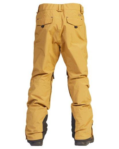 8 A/Div Compass Snow Pants Brown EBYTP00103 Billabong