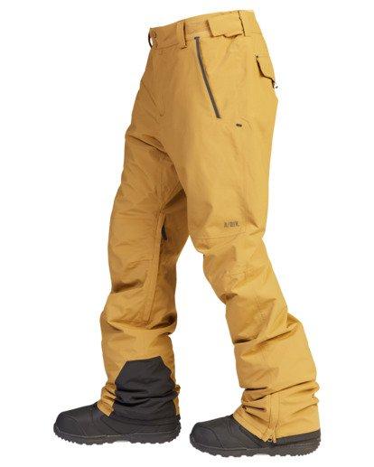7 A/Div Compass Snow Pants Brown EBYTP00103 Billabong