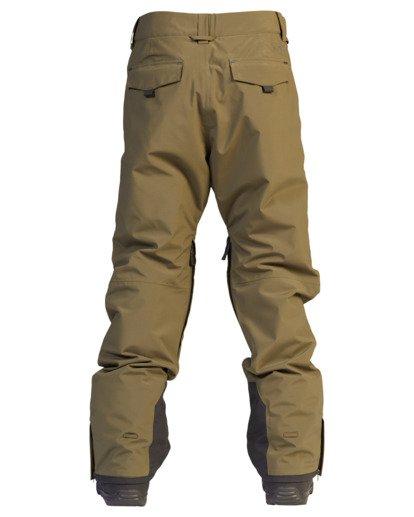 8 A/Div Compass Snow Pants Green EBYTP00103 Billabong