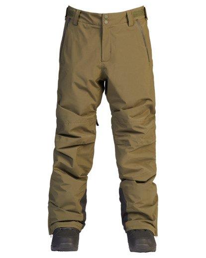 6 A/Div Compass Snow Pants Green EBYTP00103 Billabong