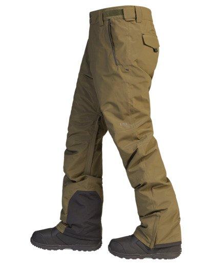 7 A/Div Compass Snow Pants Green EBYTP00103 Billabong