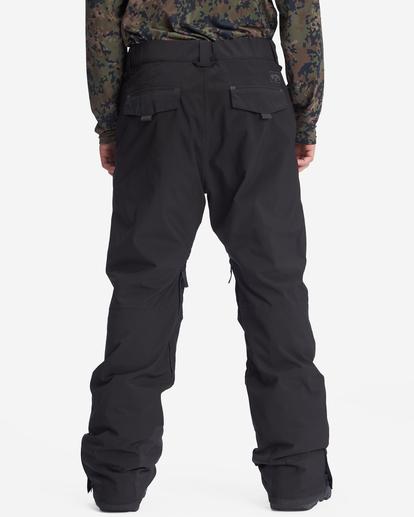 3 A/Div Compass Snow Pants Black EBYTP00103 Billabong