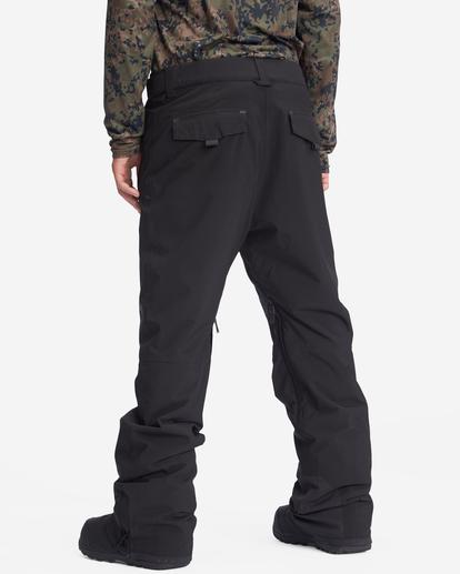 4 A/Div Compass Snow Pants Black EBYTP00103 Billabong