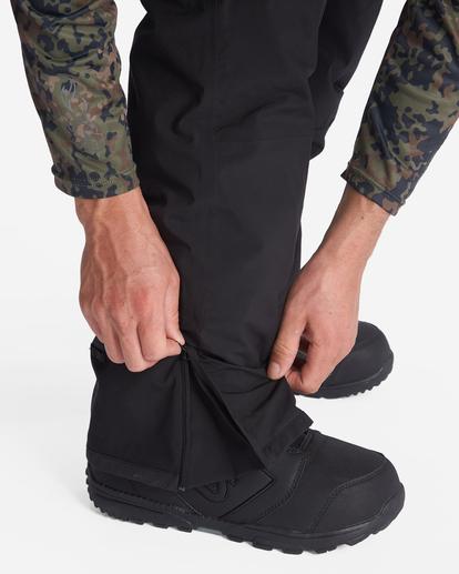 7 A/Div Compass Snow Pants Black EBYTP00103 Billabong