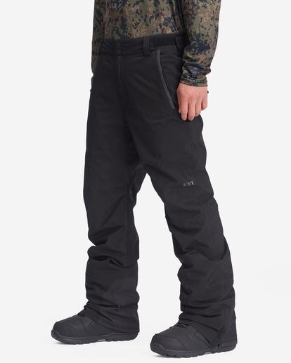 1 A/Div Compass Snow Pants Black EBYTP00103 Billabong