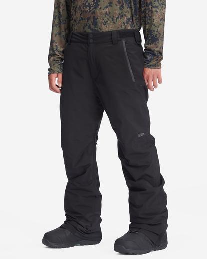 2 A/Div Compass Snow Pants Black EBYTP00103 Billabong