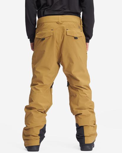 2 A/Div Compass Snow Pants Brown EBYTP00103 Billabong