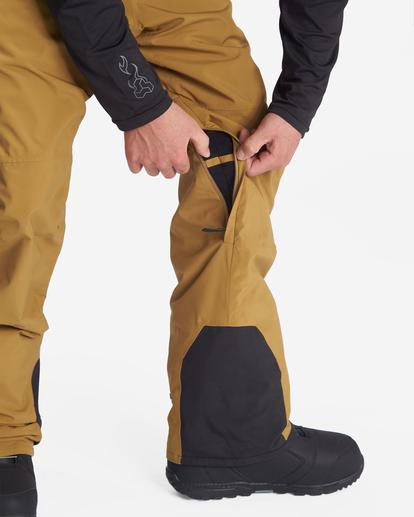 3 A/Div Compass Snow Pants Brown EBYTP00103 Billabong
