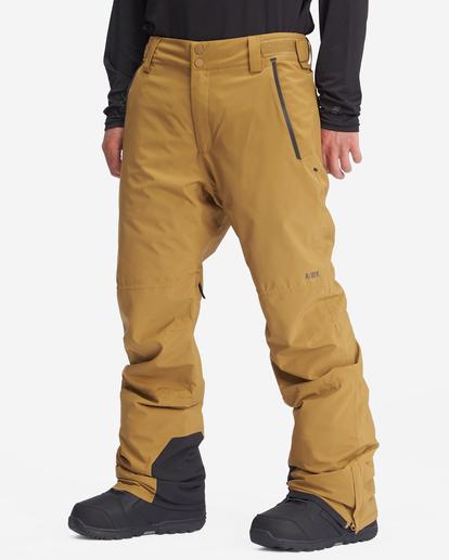 1 A/Div Compass Snow Pants Brown EBYTP00103 Billabong