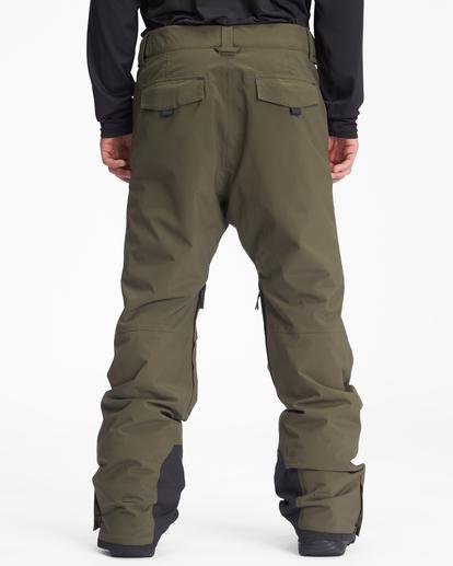 2 A/Div Compass Snow Pants Green EBYTP00103 Billabong