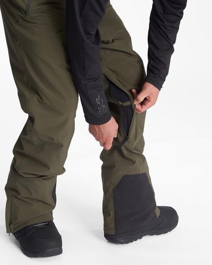 4 A/Div Compass Snow Pants Green EBYTP00103 Billabong