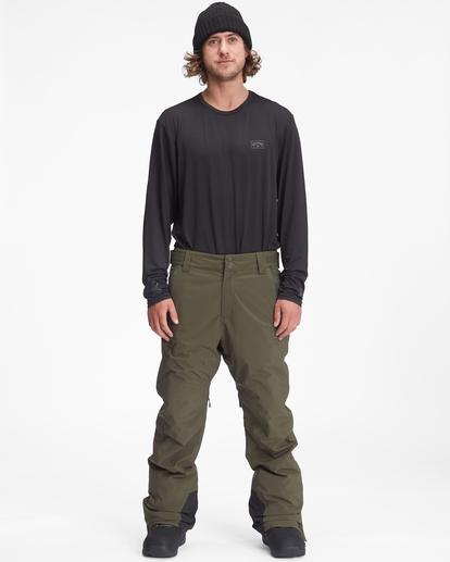 0 A/Div Compass Snow Pants Green EBYTP00103 Billabong
