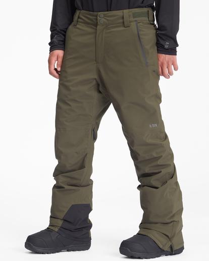 1 A/Div Compass Snow Pants Green EBYTP00103 Billabong