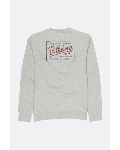 1 BALDWIN CREW Grey F1CR08BIF7 Billabong