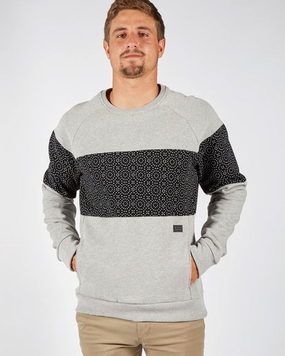 0 TRIBONG CREW Gray F1FL06BIF7 Billabong