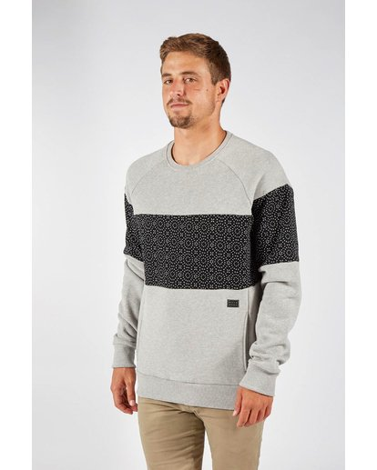 1 TRIBONG CREW Gray F1FL06BIF7 Billabong