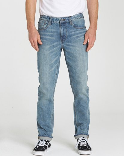 1 Outsider Jean  F1PN01BIF7 Billabong