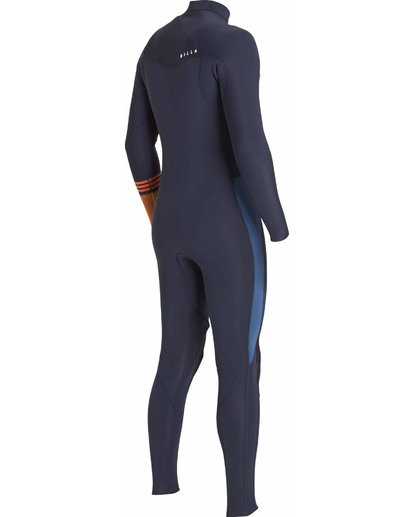 5 3/2 Boys Revolution Tribong Chest Zip Wetsuits Gris F43B12BIF7 Billabong