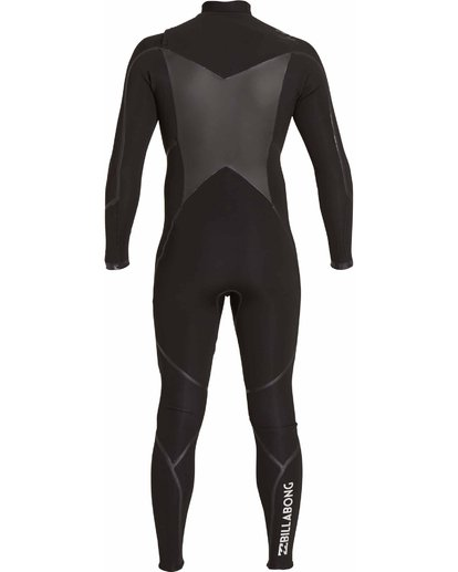 3 3/2 Absolute X Chest Zip Wetsuits Black F43M20BIF7 Billabong