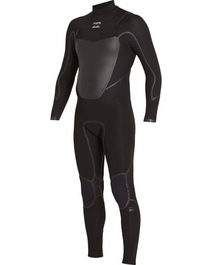 4 3/2 Absolute X Chest Zip Wetsuits Black F43M20BIF7 Billabong