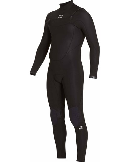 3 3/2 Absolute Chest Zip Wetsuits Black F43M21BIF7 Billabong