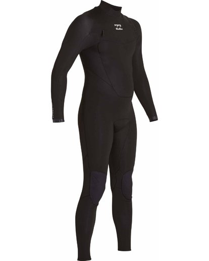 4 3/2 Absolute Chest Zip Wetsuits Black F43M21BIF7 Billabong