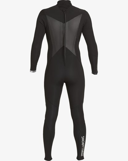 1 5/4 Absolute Back Zip Wetsuits Noir F45M22BIF7 Billabong