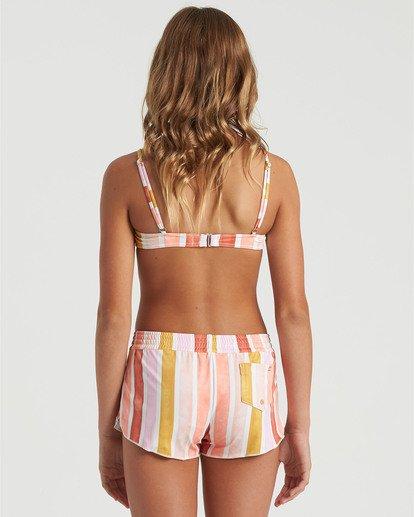1 Girls' So Stoked Swim Short Grey G1013BSO Billabong