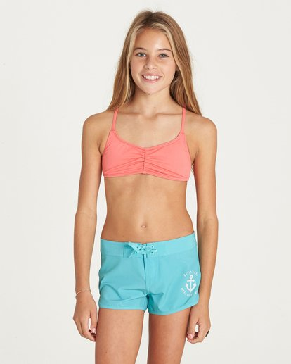 "0 Girls' Sol Searcher 2"" Boardshort  G101LSOL Billabong"