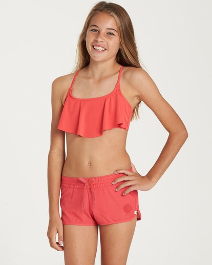 0 Girls' Sol Searcher Volley Boardshort  G101QBSO Billabong