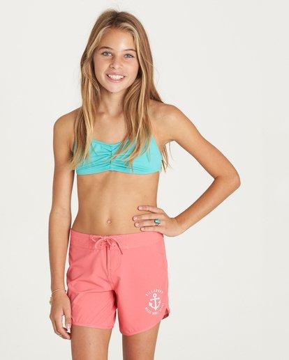 "0 Girls' Sol Searcher 5"" Boardshort Pink G102LSOL Billabong"