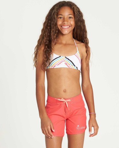"0 Girls' Sol Searcher 5""  Boardshort Red G102TBSO Billabong"