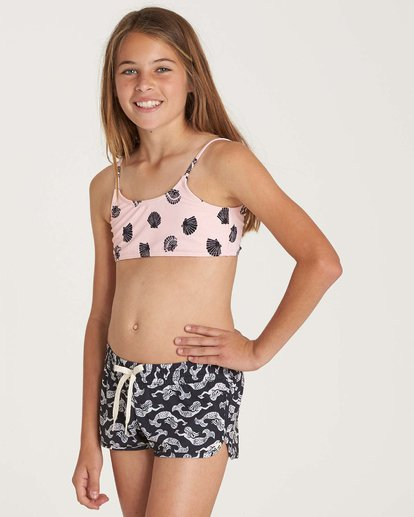 1 Girls' Conch'D Out Volley Boardshort  G103NBCO Billabong