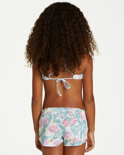 2 Girls' Mas Playas Volley Short Black G103VBMA Billabong