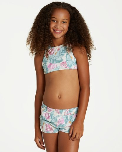 0 Girls' Mas Playas Volley Short Black G103VBMA Billabong