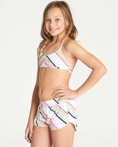 1 Girls' Seeing Rainbows Volley Boardshort  G105TBSE Billabong