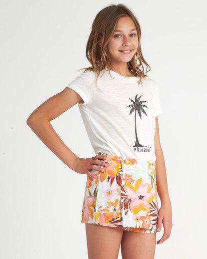 1 Girls' Skirt It Over Grey G2011BSK Billabong