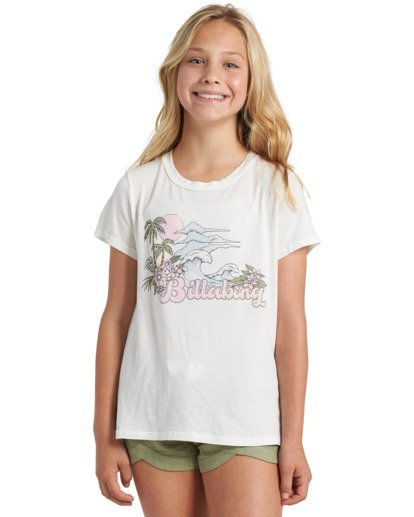 0 Girls' Be Awesome Short Green G2013BBE Billabong
